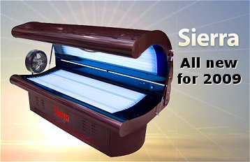 Sierra Sunsource Tanning Salon Equipment / Tanning Beds